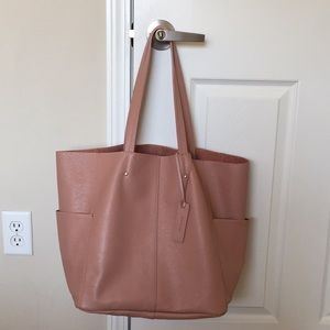 American eagle leather tote